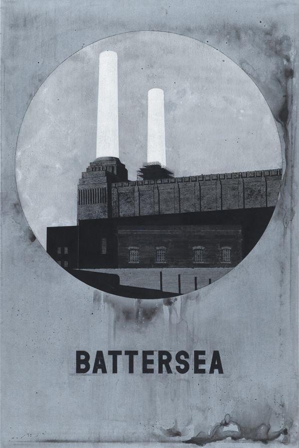 Even Hecox - Battersea Power Station, where my grandfather worked. Also from the cover of Pink Floyd's Animal album.