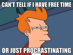 You just understand grad school Futurama meme.