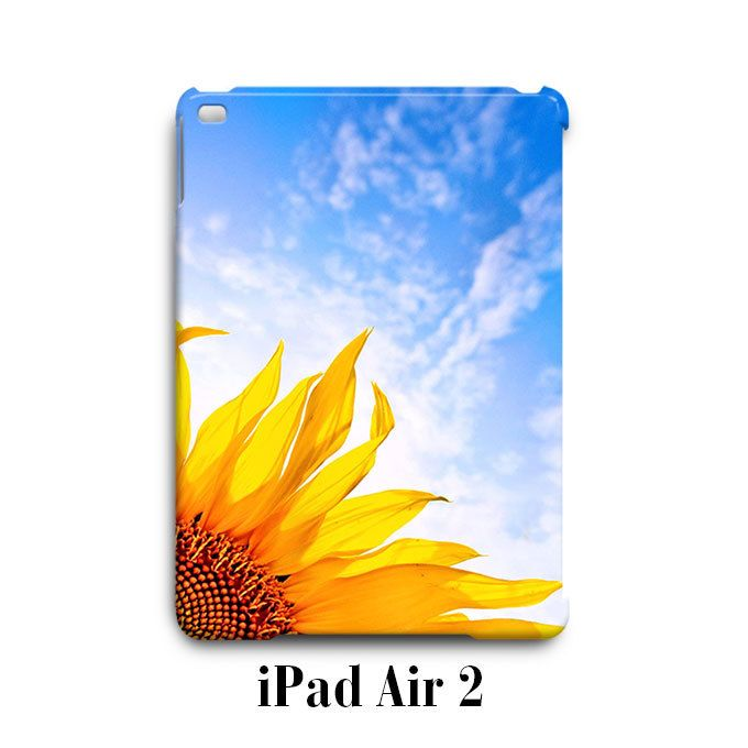 Sun Flower Sky iPad Air 2 Case Cover Wrap Around