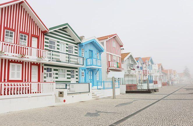 Summer in Portugal: Costa Nova!