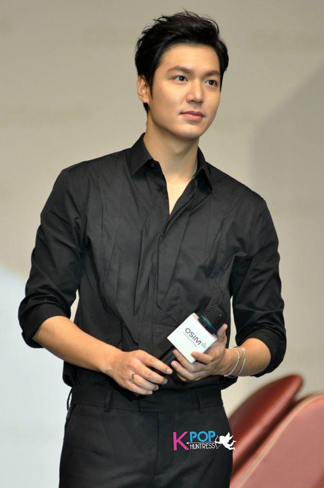 INDIVIDUO CANDY: Nuevas fotos francos de Lee Min Ho en la reunión de fans de Malasia