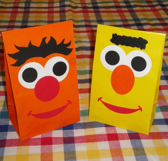 $12.50 for 10 Bert and Ernie treat bags
