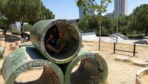 Parc de Catalunya a Sabadell CIRCUITO DE BICITRIAL Y PARQUE DE PATINAJE