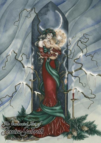 23 best Christmas Fantasy Art images on Pinterest | Drawings ...