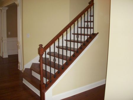 other home ideas wrought iron spindle staircase