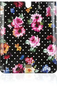 iPad Cases-Dolce & GabbannaPatent Leather, Prints Patentleath, Floral Prints, Ipad Cases, Cases Dolce, Patentleath Ipad, Gabbanaprint Patentleath, Patent Leathe Ipad, Gabbana Prints