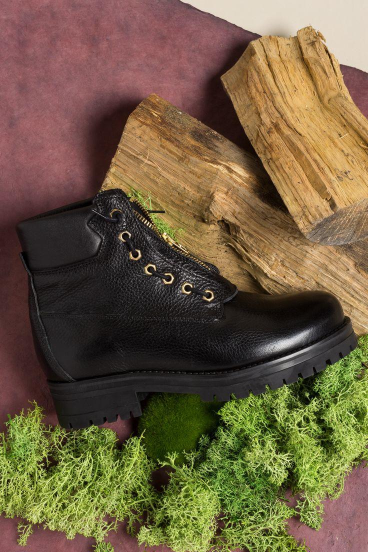 PROF shoes black women boots