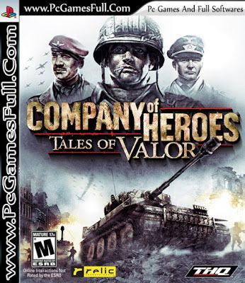 Company Of Heroes Tales Of Valor Free Download Full Version is a real strategy video game stand alone expansion pack to Company of Heroes. It was released on April 9, 2009. This game is a great game which has the act of valor and passion for fighting for one country. The best thing about this game is that there is best weapons technology introduced in the game. The game is all about war, the scenarios and the surprise attack of the enemies are the best features of the game.