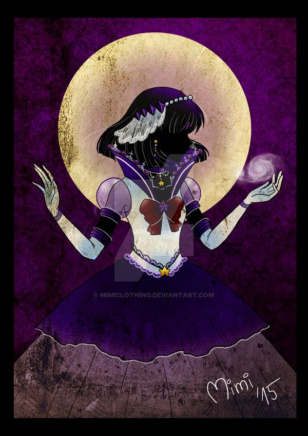 .eternal princess sailor saturn by mimiclothing.deviantart.com on @DeviantArt