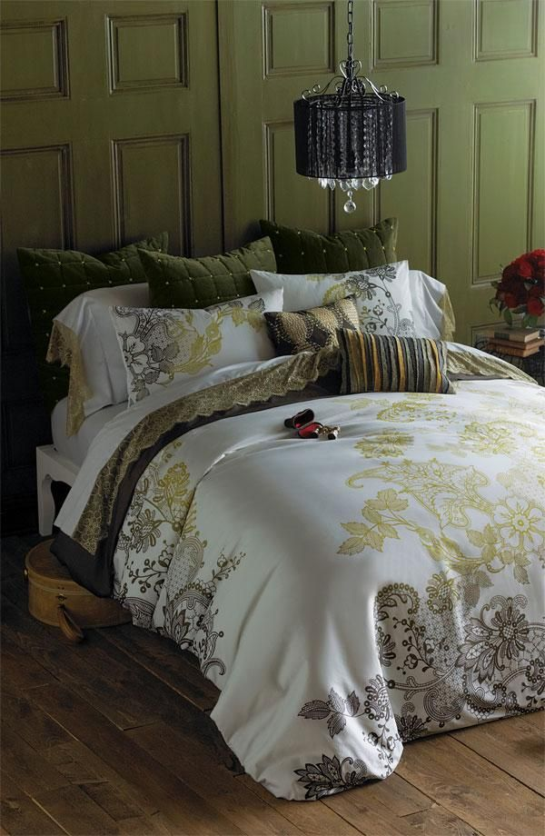 Bedroom Inspiration: Olive Hues