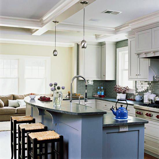 Great Room Kitchen With Island: Outlet Placement Images On Pinterest