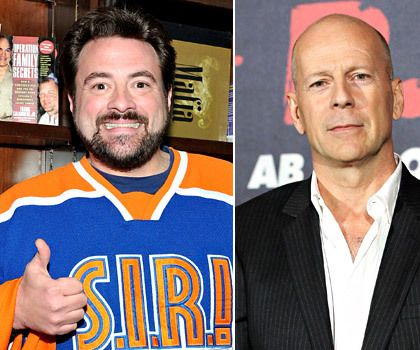 17 Best images about Actor/Director/Author Kevin Smith on ... Bruce Willis Feud