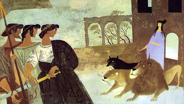 The Iliad and the Odyssey - Alice and Martin Provensen