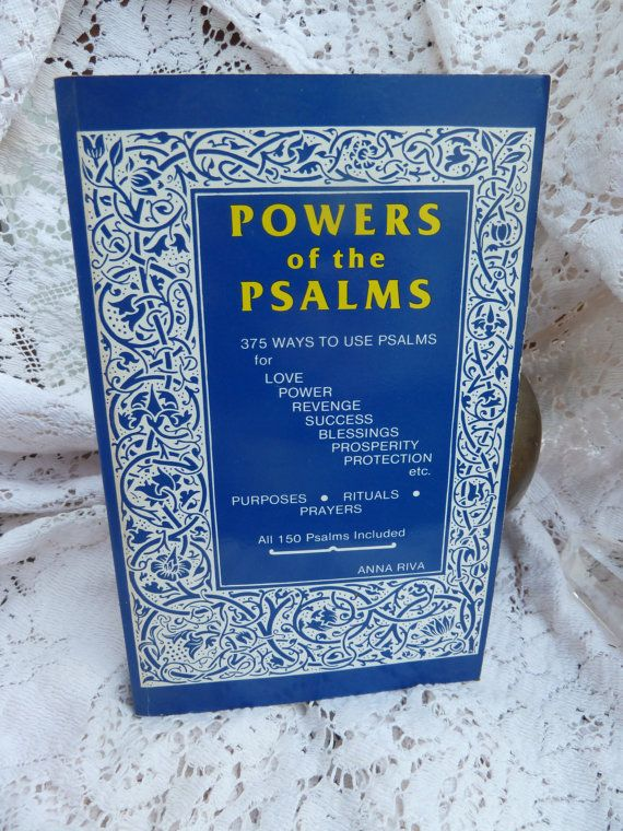 Powers of the Psalms by Anna Rivers/Occult by TheGreenWitchBooks