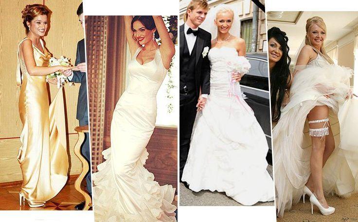 Кружево, золото, оборки: 10 главных свадебных платьев звёзд «Дома-2»
