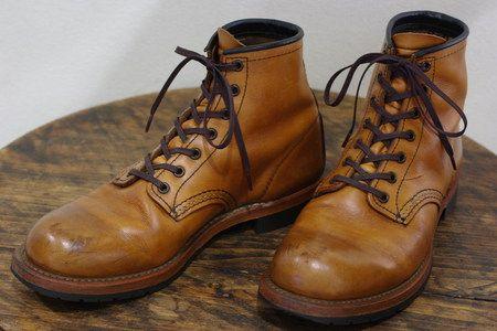 """松本の靴専門店「ヤマザキ屋」 スタッフブログ:RED WING レッドウイング""""ベックマン""""経年変化"""