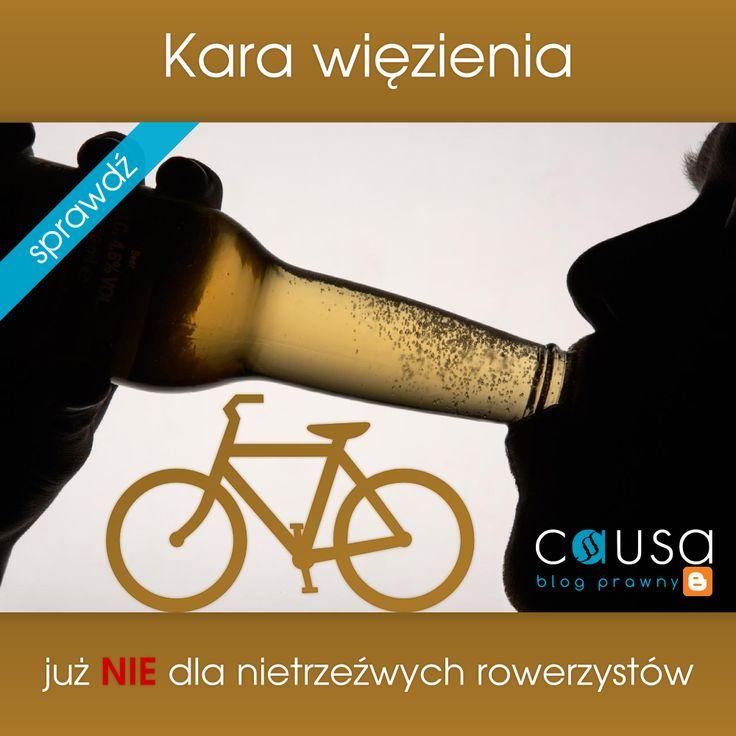 http://www.blog.causakancelariaprawna.eu/2013/11/kara-wiezienia-juz-nie-dla-nietrzezwych.html   Temat: Kara więzienia już nie dla nietrzeźwych rowerzystów.   Rozwinięcie tematu na blogu Kancelarii, zapraszamy :)
