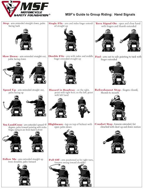 Guide to Group Riding   Motorcycle Safety