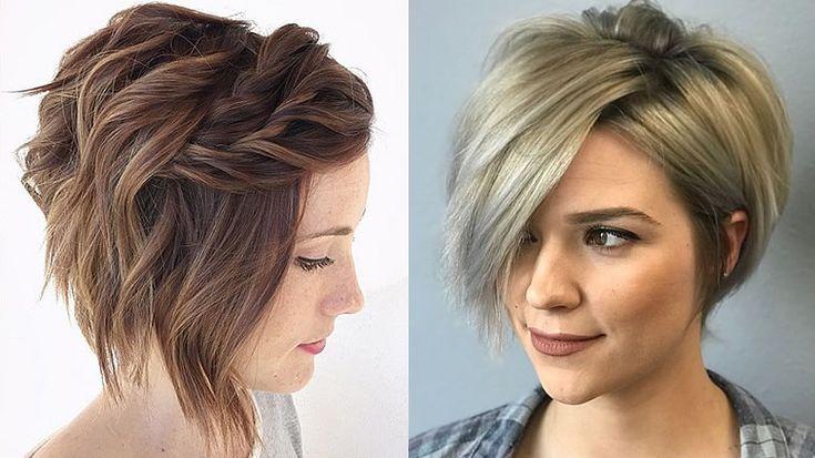 20 Glänzende Kurzhaarschnitte, Haarfarben für feines Haar 2020