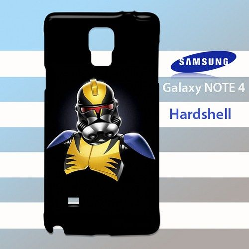 Wolverine Stormtrooper Samsung Galaxy Note 4 Case Cover Hardshell