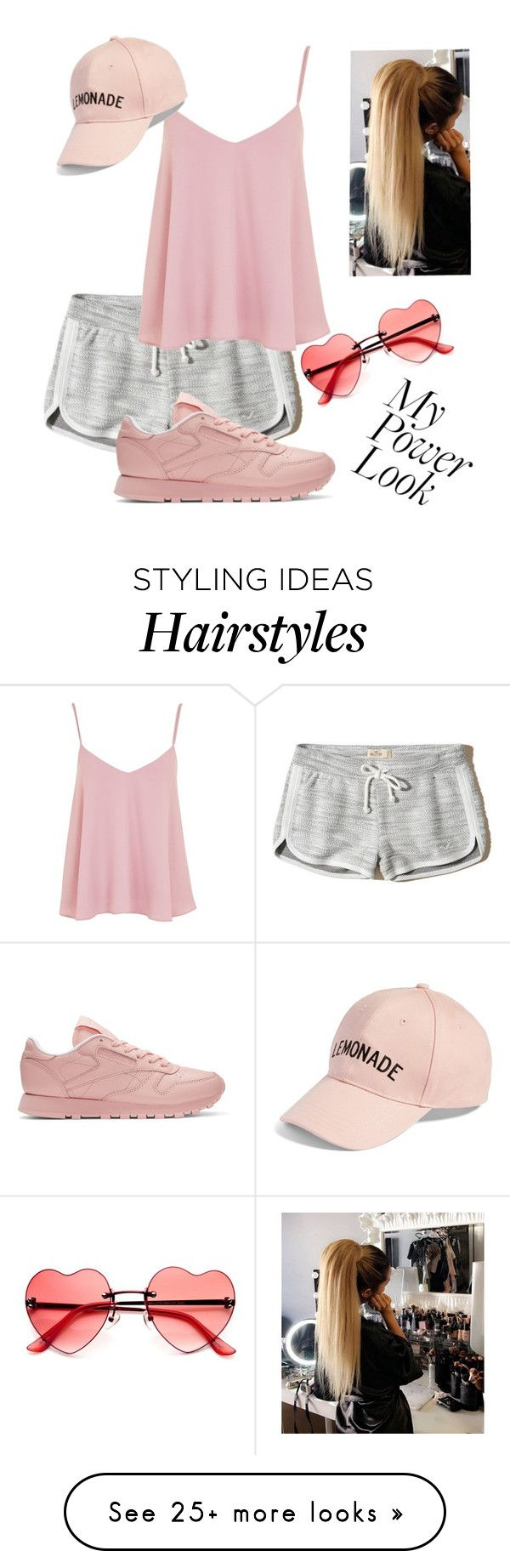 """Untitled #53"" by ashleighxoxo811145 on Polyvore featuring Hollister Co., Reebok, Topshop and Amici Accessories"