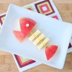 Apple Fish snack :-)