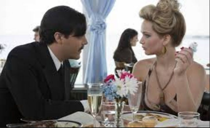 This scene out of American Hustle was filmed at Anthony's Pier 4 restaurant, located in Swampscott, MA! Starring Jennifer Lawrence, Christian Bale, Jeremy Renner, Amy Adams, Bradley Cooper. Directed by David O. Russell.