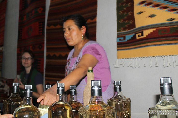 With her interest free micro loan this woman started her own Mezcal business.