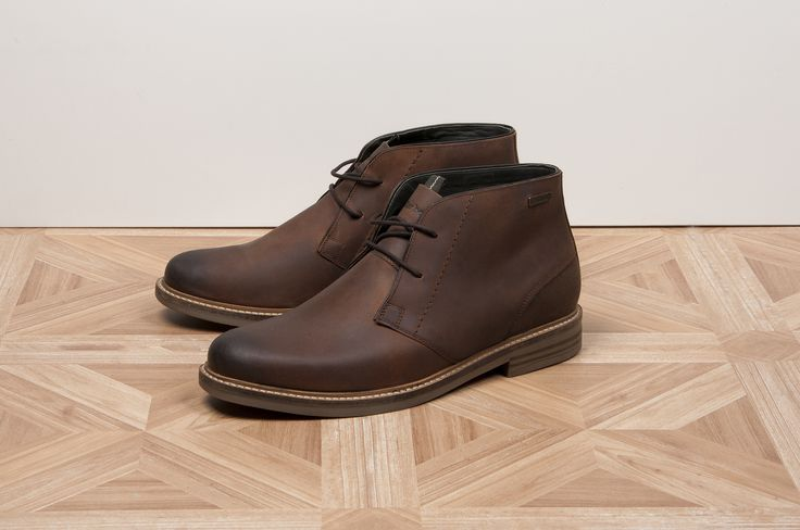 Barbour Readhead Mens Leather Chukka Boots