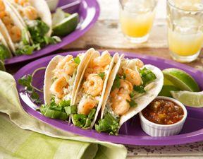 Shrimp Scampi Tacos Recipe