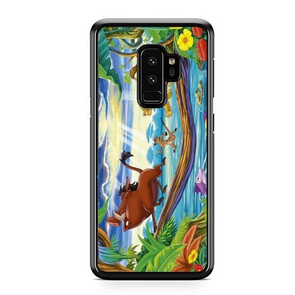 Timon Pumbaa And Simba Samsung Galaxy S9 Case   Casefruits