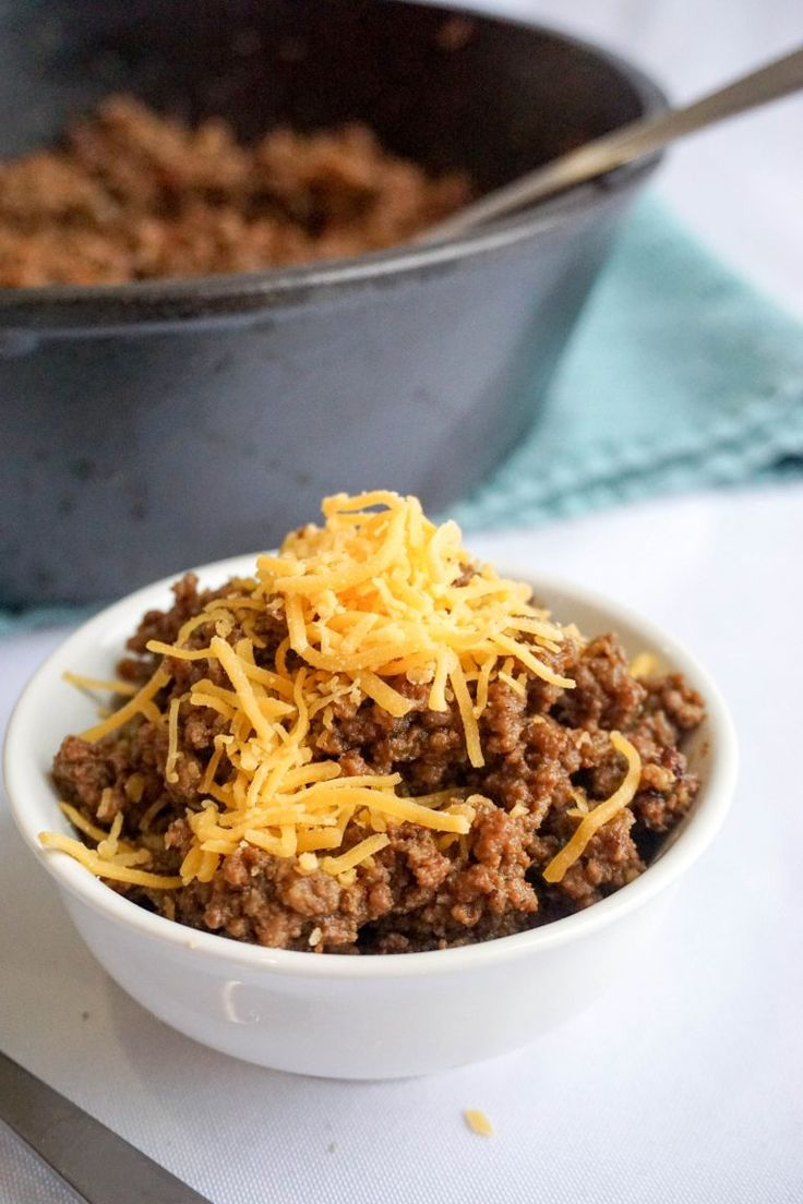 chili with bacon bowl