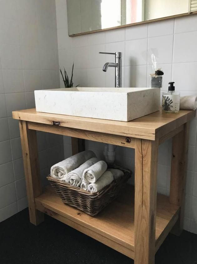 Badezimmer Badmobel Badezimmermobel Badmobel Set Spiegelschrank Bad Badezimmerschrank Badspiegel Badheizkorper In 2020 Diy Vanity Wood Feature Wall Diy Bathroom