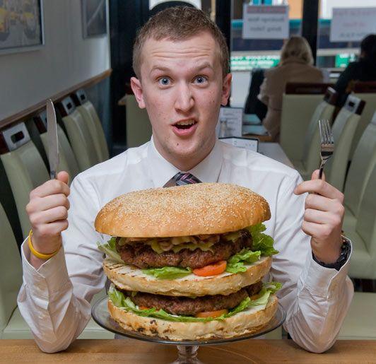 UK's Biggest Burger...NICE!!!