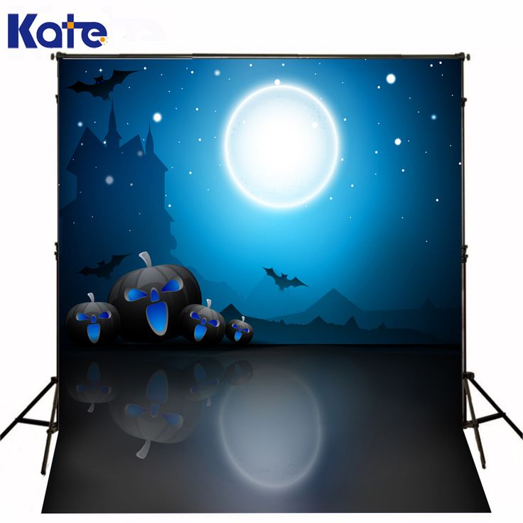 Find More Background Information about Fondos De Estudio Fotografia Black Floor Moon Photo Background Black Pumpkin Happy Halloween  Kate Background Backdrop,High Quality backdrop light,China halloween activities Suppliers, Cheap halloween from Marry wang on Aliexpress.com