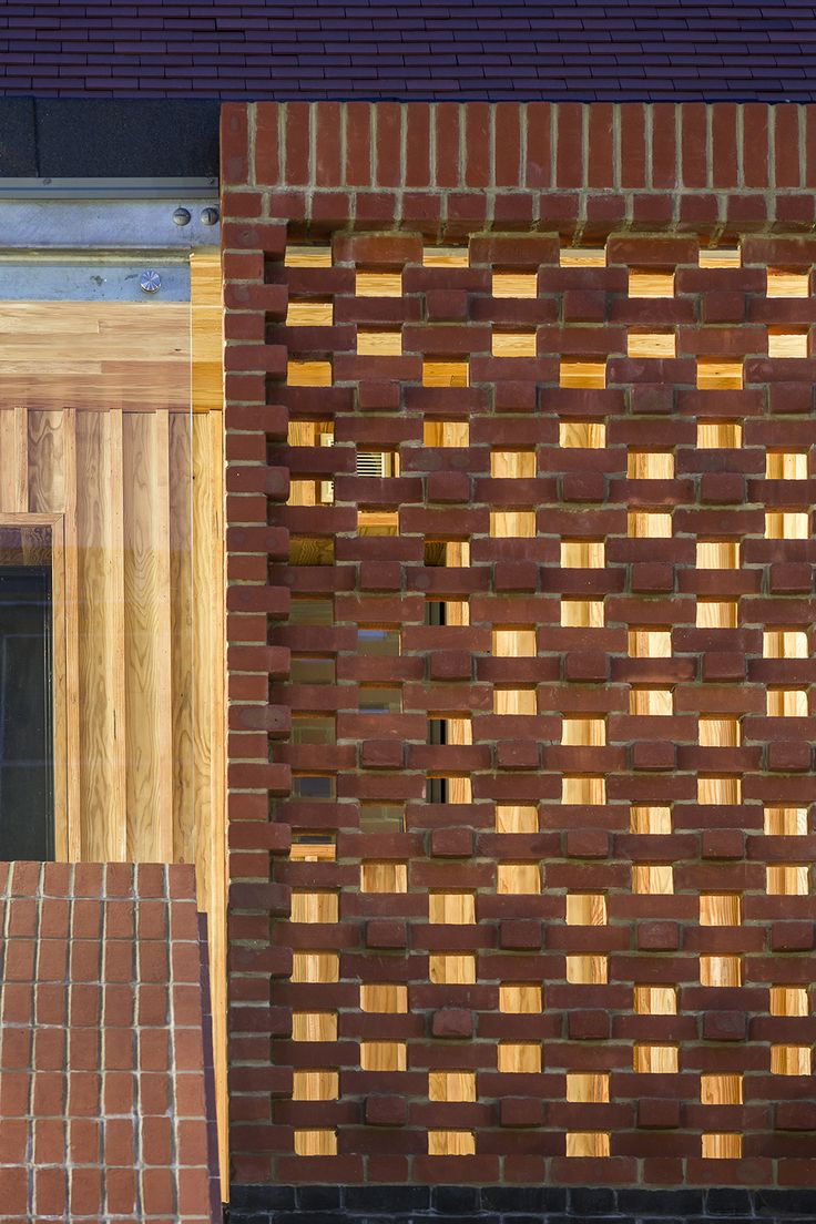 230 best images about perforated brick screen wall on for Perforated brick wall