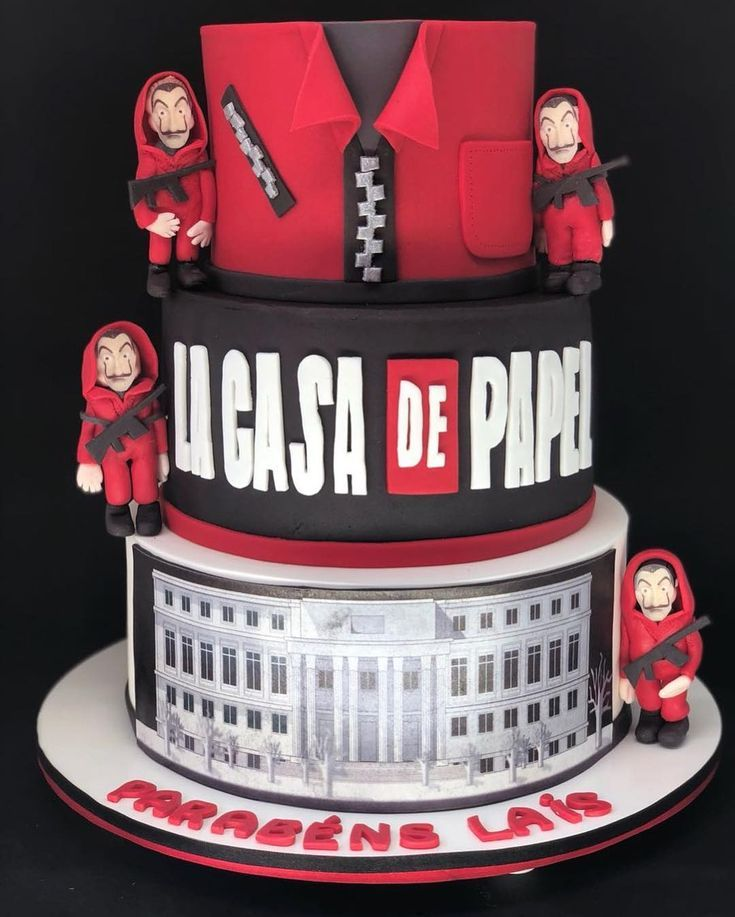 This Cake Reminded You Who The Paper House By