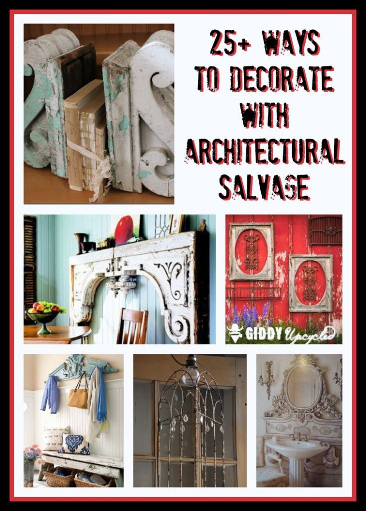 Decorating with architectural salvage 25 ideas for high for Architectural salvage nyc