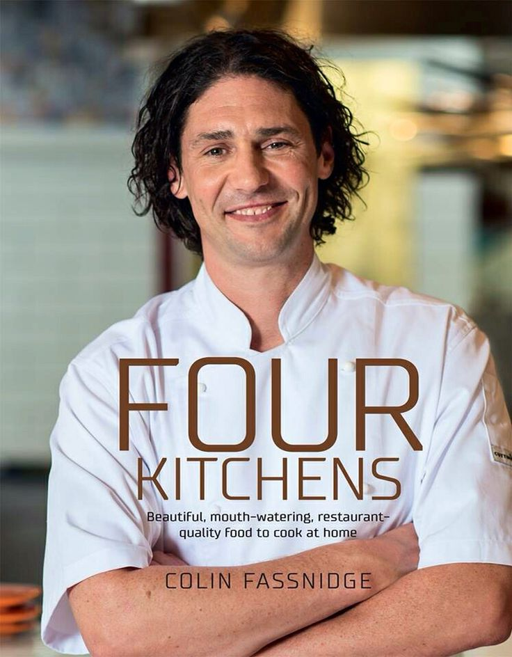 Colin Fassnidge releases a new cook book