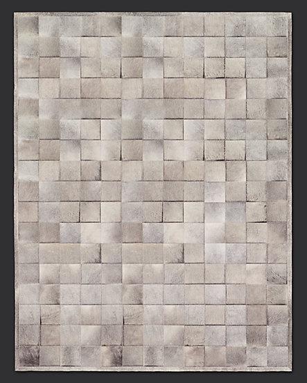 beautiful: Cowhide Tile, Living Rooms, Restoration Hardware, Catalog, Tile Rugs, Argentine Cowhide, Cowhide Rugs, Rugs Grey, Products