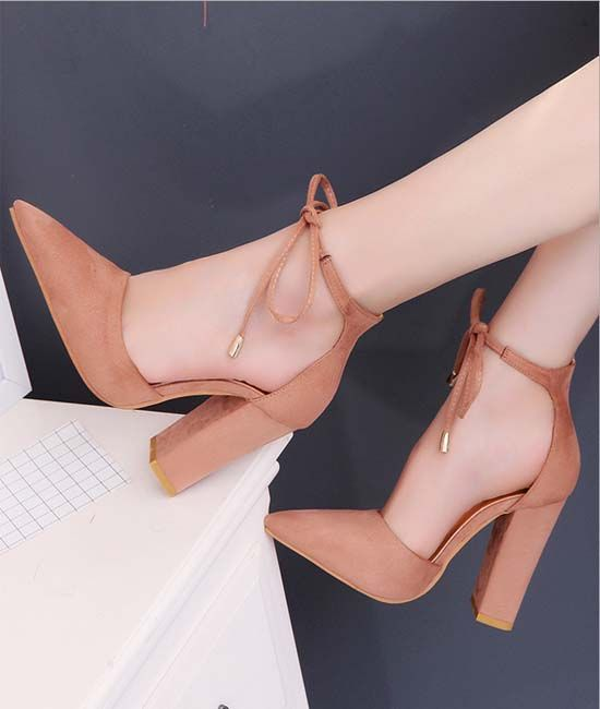 Latest High Heel Ladies Shoes 2018  2de0e58eb2a8