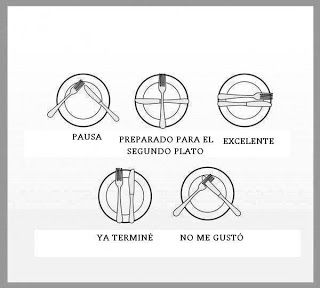 151 best images about a la mesa to the table on - Protocolo cubiertos mesa ...