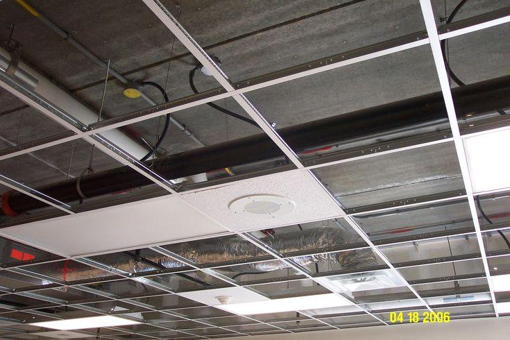 Ceiling Tile Speaker Mount