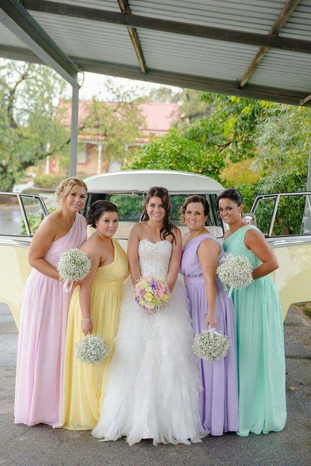 17  ideas about Pastel Bridesmaid Dresses on Pinterest - Pastel ...