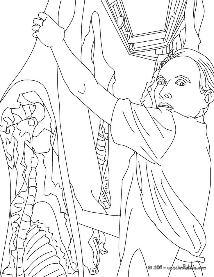Butcher coloring page. Amazing way for kids to discover job. More original content on hellokids.com
