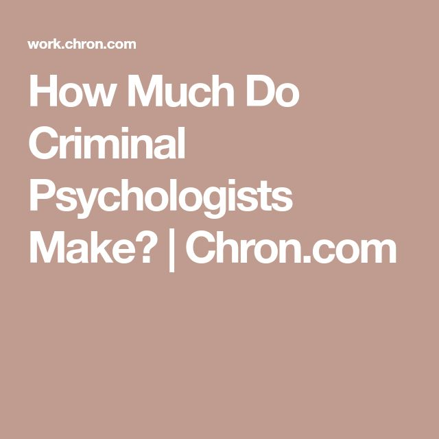 how much do psychologist make