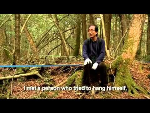 """Aokigahara Suicide Forest - Haunting and Sad.  """"We have to coexist and take care of eachother."""""""