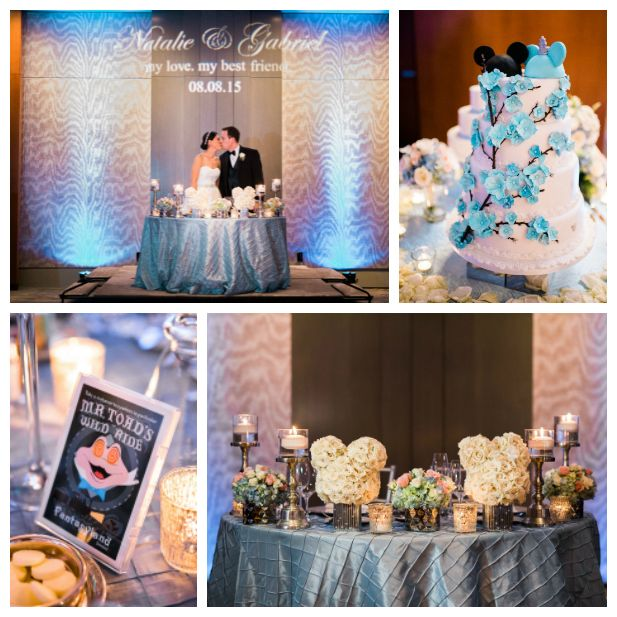 Elegant Disney Wedding at Four Seasons Hotel Silicon Valley | Bay Area wedding venues | Annie Hall Photography | See more on My Hotel Wedding: https://www.myhotelwedding.com/blog/2016/04/11/elegant-disney-wedding-at-four-seasons-hotel-silicon-valley/