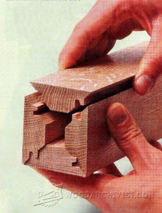 Lock Miter Bit Setup - Joinery Tips, Jigs and Techniques   WoodArchivist.com