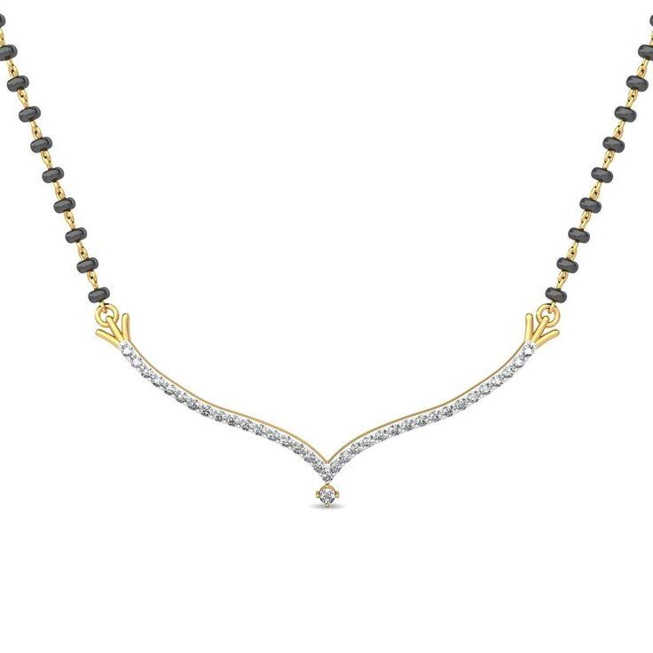 Spark Traditional Diamond Mangalsutra